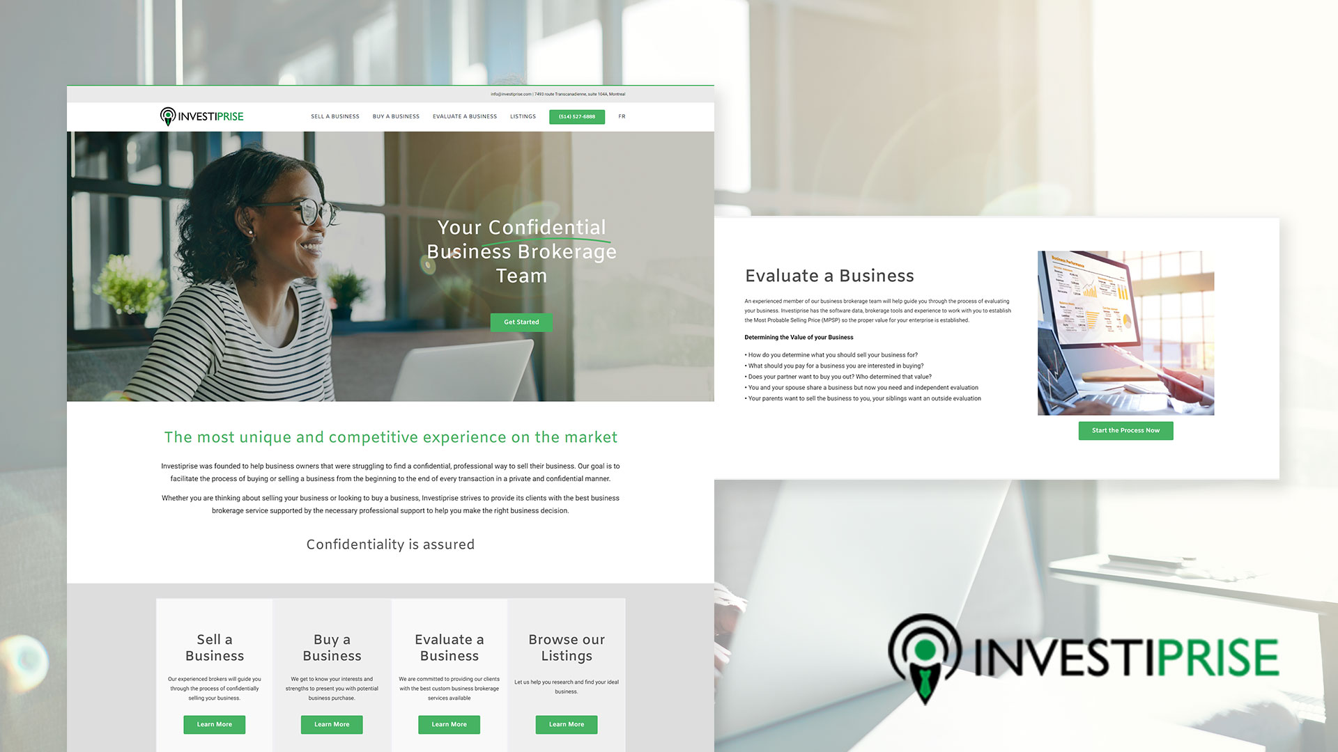 Investiprise Business Brokers