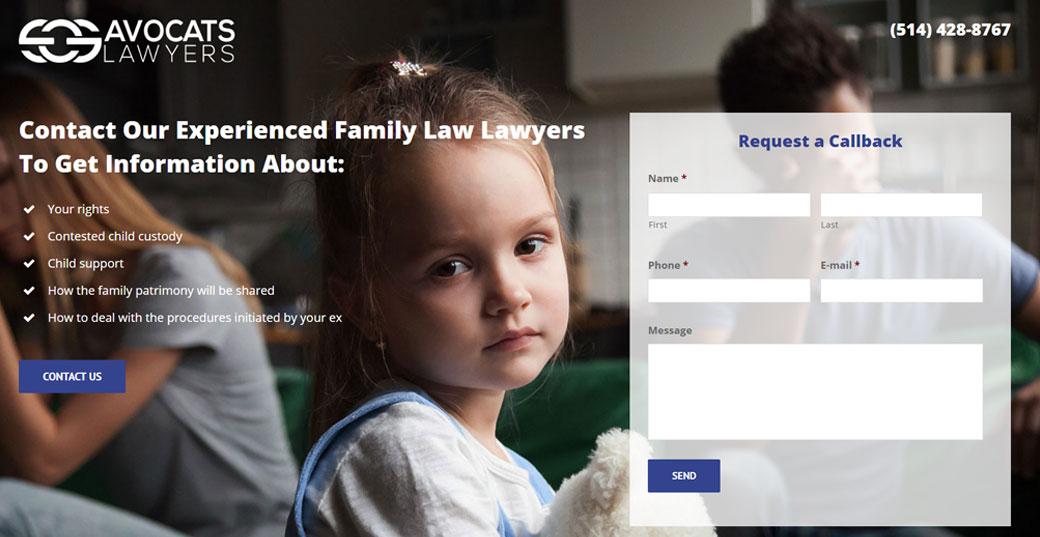 sos avocats web design